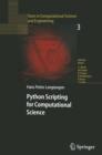 Image for Python scripting for computational science