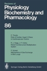 Image for Reviews of Physiology, Biochemistry and Pharmacology : Volume: 86