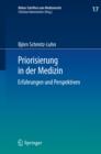 Image for Priorisierung in der Medizin: Erfahrungen und Perspektiven : 17