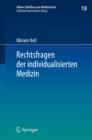 Image for Rechtsfragen der individualisierten Medizin : 18