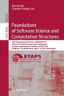 Image for Foundations of Software Science and Computation Structures : 19th International Conference, FOSSACS 2016, Held as Part of the European Joint Conferences on Theory and Practice of Software, ETAPS 2016,