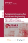 Image for Fundamental Approaches to Software Engineering : 19th International Conference, FASE 2016, Held as Part of the European Joint Conferences on Theory and Practice of Software, ETAPS 2016, Eindhoven, The