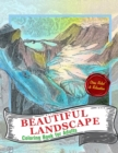 Image for Beautiful Landscapes Coloring Book For Adults : A Perfect Gift for Coloring Books Lovers To Give Free Rein to Their Creativity - Detailed Drawings ... Relaxation & Mindfulness & Stress Relief