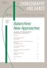 Image for Balanchine : A special issue of the journal Choreography and Dance