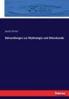 Image for Abhandlungen zur Mythologie und Sittenkunde