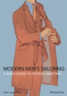 Image for Modern Men's Tailoring : A Basic Guide To Pattern Drafting