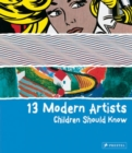 Image for 13 modern artists children should know