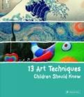 Image for 13 art techniques children should know