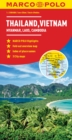 Image for Thailand, Vietnam, Laos, Cambodia Marco Polo Map