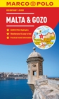 Image for Malta and Gozo Marco Polo Holiday Map - pocket size , easy fold Malta and Gozo map