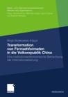 Image for Transformation von Fernsehformaten in die Volksrepublik China: Eine institutionenokonomische Betrachtung der Internationalisierung