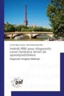 Image for Int r t Irm Pour Diagnostic Canal Lombaire  troit de Spondylolisth sis