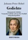Image for Gedichte : Alemannische Gedichte / Vermischte Gedichte und aus dem Nachlass / Gelegenheitsgedichte