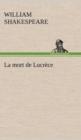 Image for La Mort de Lucrece