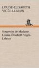 Image for Souvenirs de Madame Louise- lisabeth Vig e-Lebrun, Tome Premier