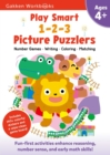 Image for Play Smart 1-2-3 Picture Puzzlers Age 4+ : At-home Activity Workbook