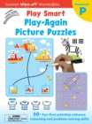 Image for Play Smart Play Again Picture Puzzles Ages 2-4 : At-home Wipe-off Workbook with Erasable Marker