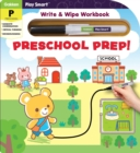 Image for Play Smart Preschool Prep! Puzzles Ages 2-4 : At-home Write & Wipe Workbook with Erasable Pen