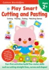 Image for Play Smart Cutting and Pasting Age 2+ :  Ages 2-4 Practice Scissor Skills, Strengthen fine-motor skills: Cutting lines and shapes, Gluing, Stickers, Mazes, Counting, and More
