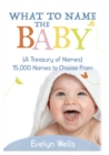 Image for What To Name The Baby (A Treasury of Names) : 15,000 Names to Choose From