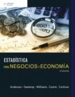 Image for Estadistica para Negocios y Economia