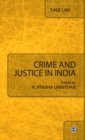 Image for Crime and justice in India