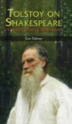 Image for TOLSTOY ON SHAKESPEARE