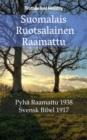 Image for Suomalais Ruotsalainen Raamattu: Pyha Raamattu 1938 - Svensk Bibel 1917.
