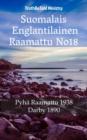 Image for Suomalais Englantilainen Raamattu No18: Pyha Raamattu 1938 - Darby 1890.