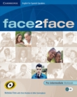 Image for Face2face for Spanish Speakers Pre-intermediate Workbook with Key