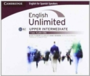 Image for English Unlimited for Spanish Speakers Upper Intermediate Class Audio CDs (3)