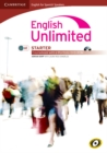 Image for English Unlimited for Spanish Speakers Starter Coursebook with E-portfolio