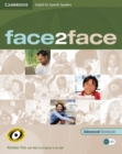 Image for Face2face for Spanish Speakers Advanced Workbook with Key
