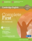 Image for Complete First for Schools for Spanish Speakers Workbook with Answers with Audio CD