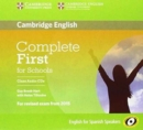 Image for Complete First for Schools for Spanish Speakers Class Audio CDs (3)