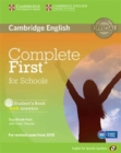 Image for Complete First for Schools for Spanish Speakers Student's Book with Answers with CD-ROM