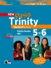 Image for New Pass Trinity : Student's Book + audio CD Grades 5-6