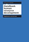 Image for Handboek human resource development: Organiseren van het leren