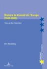 Image for Histoire Du Conseil de l'Europe (1949-2009) : Preface Par Marie-Therese Bitsch