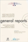 Image for General Reports of the XVIIth Congress of the International Academy of Comparative Law : Rapports Generaux Du XVIIe Congres International De Droit Compare