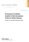 Image for Processing of Irradiated Graphite to Meet Acceptance Criteria for Waste Disposal : Results of a Coordinated Research Project