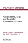 Image for Governmental, Legal and Regulatory Framework for Safety