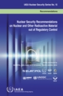Image for Nuclear security recommendations on nuclear and other radioactive material out of regulatory control  : recommendations