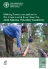 Image for Making forest concessions in the tropics work to achieve the 2030 Agenda : voluntary guidelines