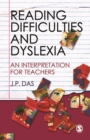 Image for Reading difficulties and dyslexia: an interpretation for teachers