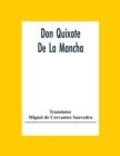 Image for Don Quixote De La Mancha