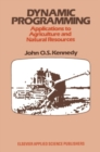 Image for Dynamic programming: applications to agriculture and natural resources