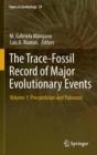 Image for The trace-fossil record of major evolutionary eventsVolume 1,: PreCambrian and Paleozoic