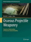 Image for Osseous projectile weaponry  : towards an understanding of pleistocene cultural variability