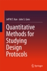 Image for Quantitative methods for studying design protocols